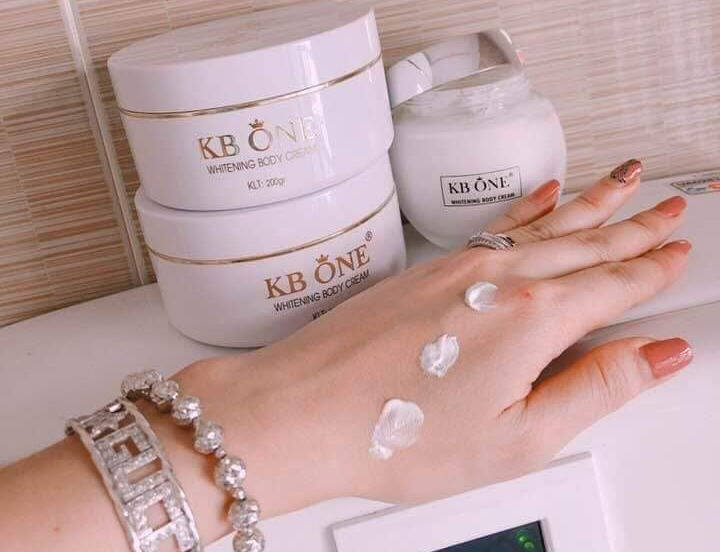 Whitening Body Cream - Kem Body Kbone ngày