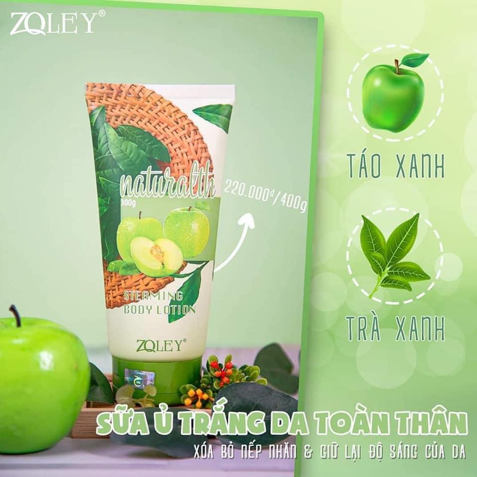 Sữa ủ trắng body táo xanh Zoley