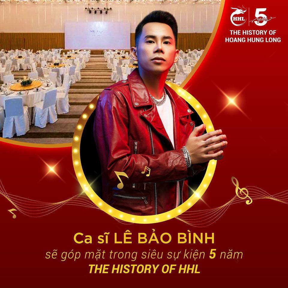 Ca sĩ Lê Bảo Bình góp mặt trong sự kiện Hoàng Hưng Long